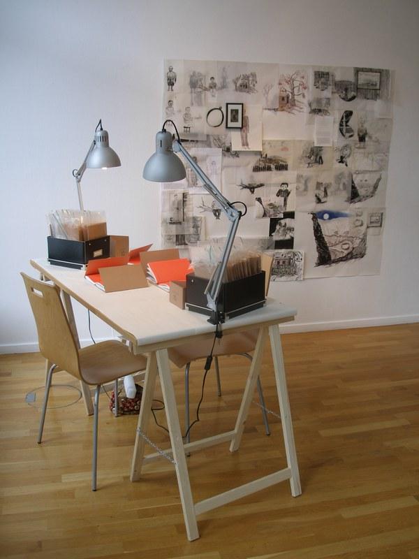 Kabinetti installation @ AUSGRABUNGEN DES ALLTAGS, Finnish Institute in Germany, Berlin 2010