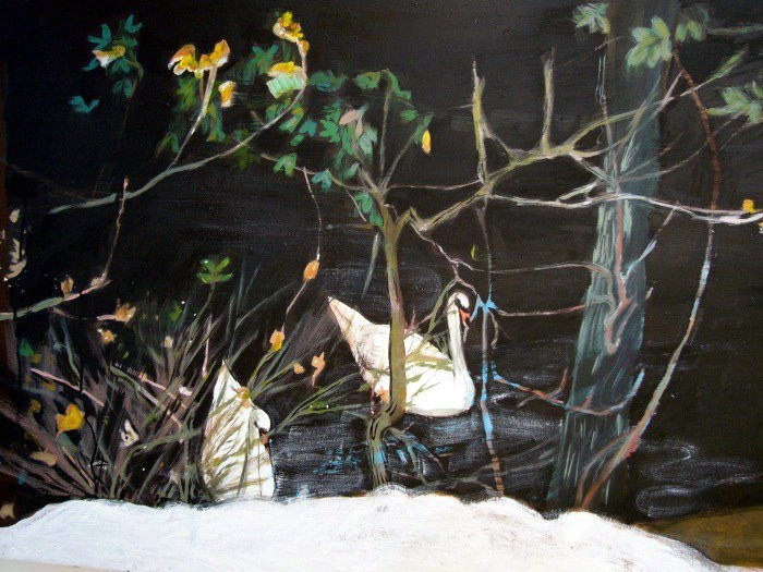 Swans of Alster